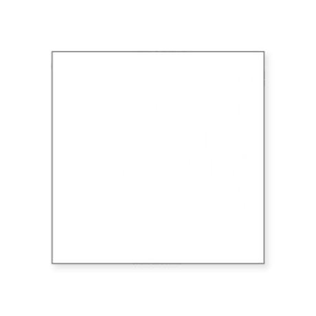 """The More We Love Square Sticker 3"""" x 3"""""""