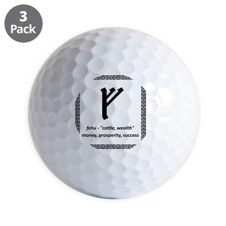 Fehu Golf Balls