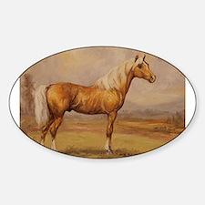 Palomino Horse Decal