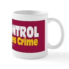 GunControl Encourages Crime Sticker Mug