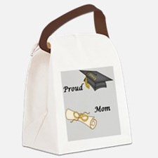 Proud Mom of a  Graduate! Canvas Lunch Bag