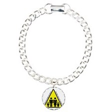 Half Crazy Charm Bracelet, One Charm