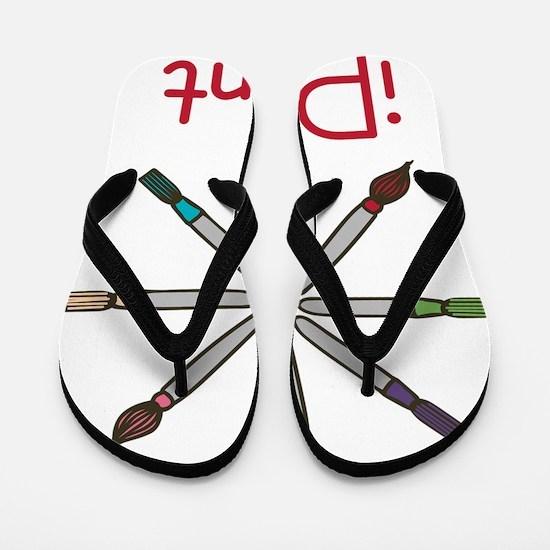 iPaint Flip Flops