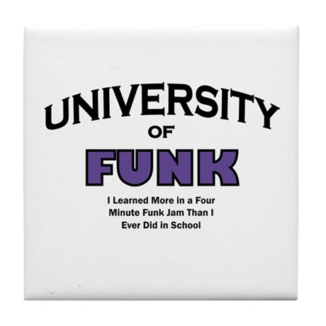 Funk Music Tile Coaster