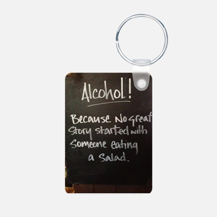 The truth about Alcohol Keychains