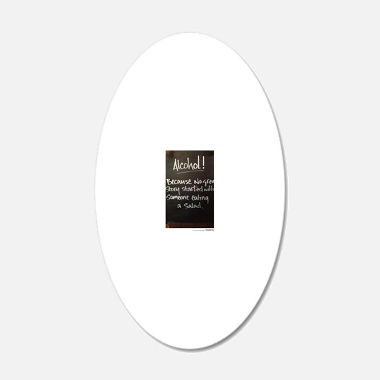 The truth about Alcohol Decal Wall Sticker