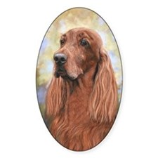 Irish Setter by Dawn Secord Decal