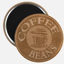 Coffee Beans Logo Magnet