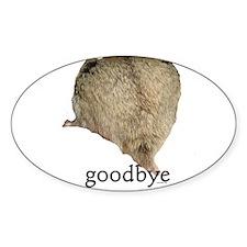 Goodbye Decal