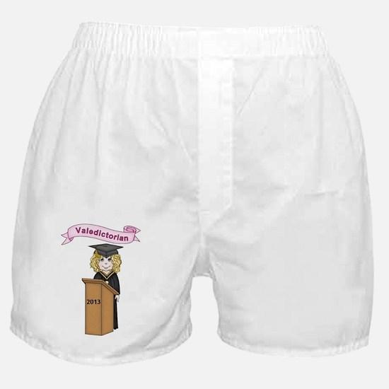 Valedictorian Girl 2013 Boxer Shorts