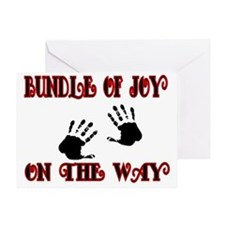 Bundle of joy on the Way Greeting Card