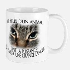 Les yeux d'un animal... Mug (2-sided)
