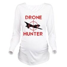 Drone Hunter Long Sleeve Maternity T-Shirt
