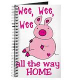 Pig friend Journals & Spiral Notebooks