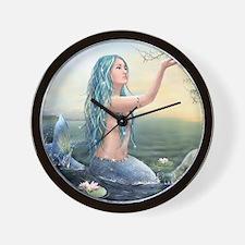 Beautiful Mermaid Wall Clock