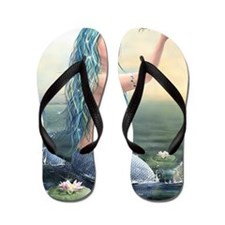 Beautiful Mermaid Flip Flops