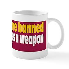 Guns Prevent Crimes Sticker Mug
