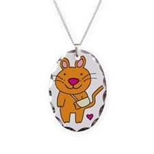 Broken Kitty Necklace