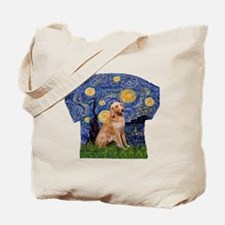 Starry Night - Golden 1 Tote Bag