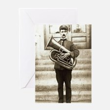 tuba-96 Greeting Card