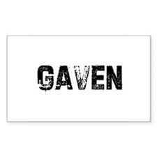 Gaven Rectangle Decal
