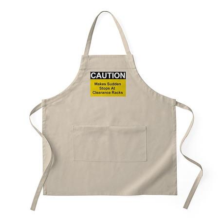 Caution Makes Sudden... BBQ Apron