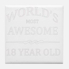 18 Year old Tile Coaster