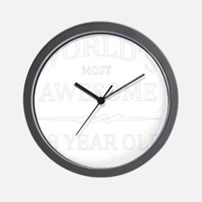 18 Year old Wall Clock
