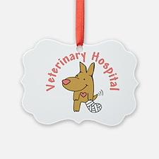 Veterinary Hospital Ornament