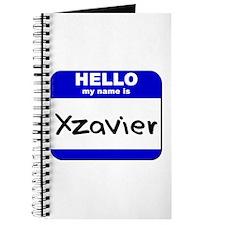 hello my name is xzavier Journal