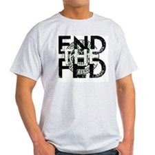 End the Fed Green T-Shirt
