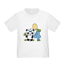 Lil' Panda Boy 4th Birthday T
