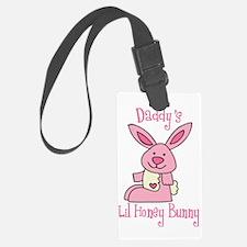 Daddy's Lil' Honey Bunny Luggage Tag