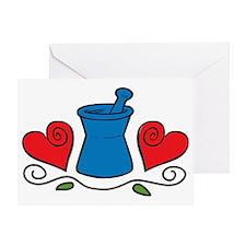 Mortar & Pestle Greeting Card