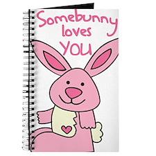 Somebunny Loves You Journal