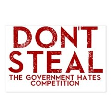 Dont Steal Postcards (Package of 8)