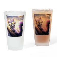 Cheshire Cat Drinking Glass