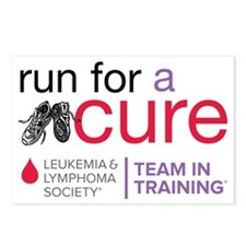 Run for a cure Leukemia a Postcards (Package of 8)