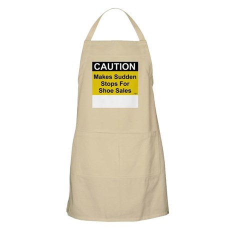Sudden Stops For Shoes BBQ Apron
