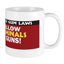 Support Sensible Gun Laws Sticker Mug