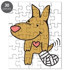Broken Leg - Wagging Tail Puzzle