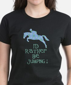 rather-jumping blue Tee