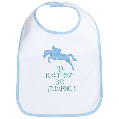 rather-jumping blue Bib