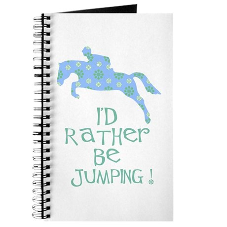 rather-jumping blue Journal