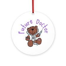 Future Doctor Round Ornament