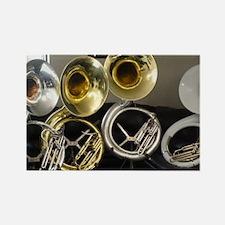 sousaphones-3 Rectangle Magnet