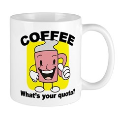 Coffee Quota Mug
