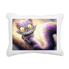 Cheshire Cat Rectangular Canvas Pillow