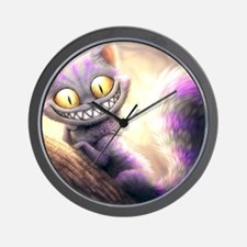 Cheshire Cat Wall Clock