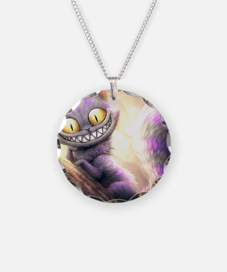 Cheshire Cat Necklace